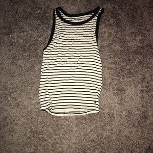 American Eagle striped tank top